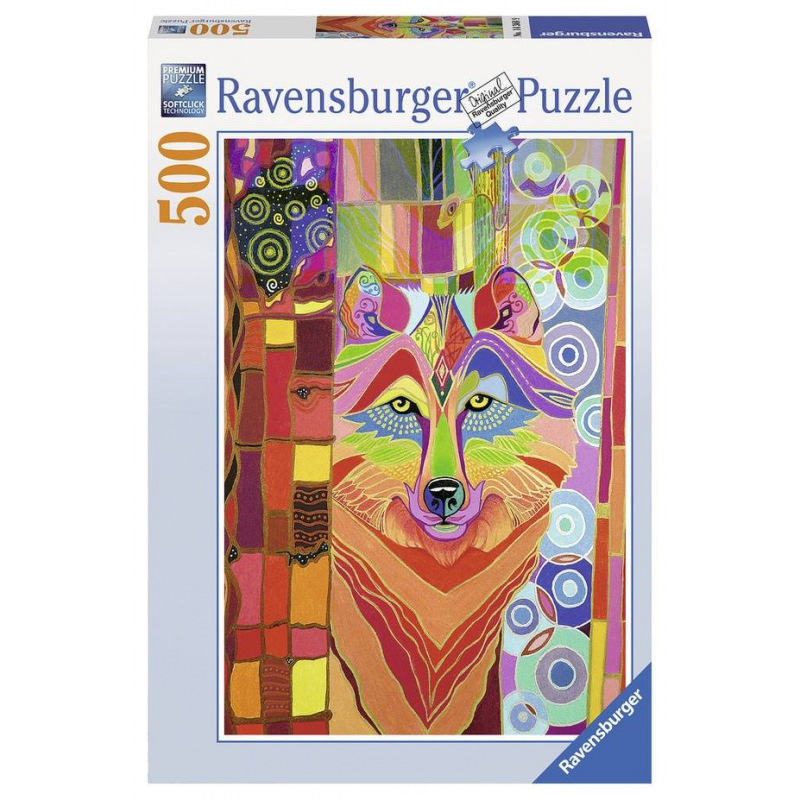 RAVENSBURGER Пазл Сказочный волк 500 деталей пазлы ravensburger пазл сказочный волк 500 деталей