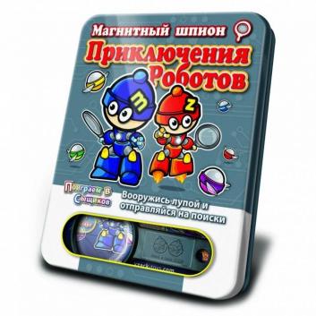 Магнитная игра Приключения Роботов