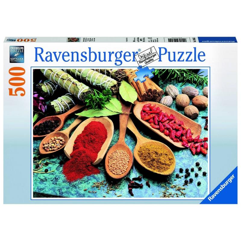 Купить Пазл Красочные специи 500 деталей, RAVENSBURGER, от 9 лет, Не указан, 653872