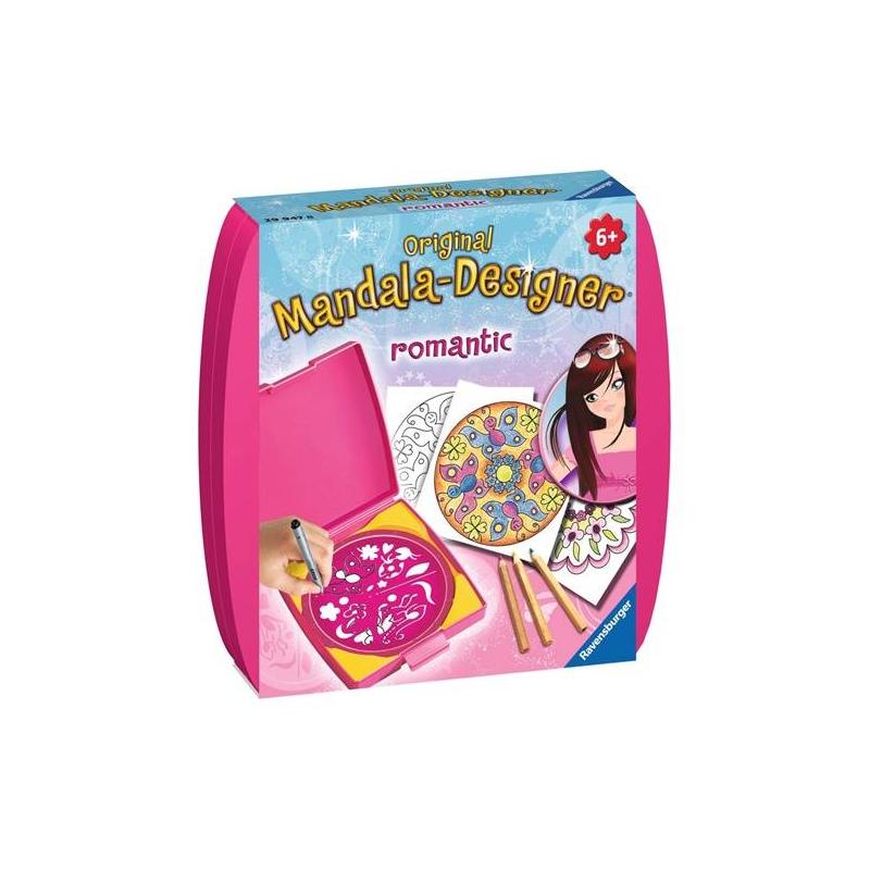 RAVENSBURGER Мини мандала Романтика наборы для творчества ravensburger мандала принцессы