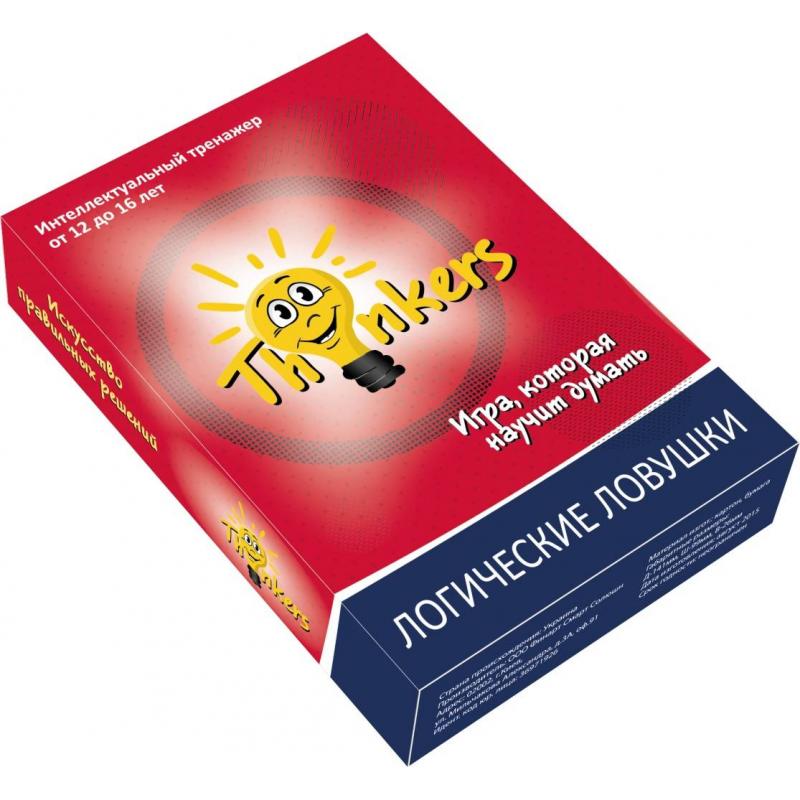 Купить Логическая игра Логические ловушки, Thinkers, от 12 лет, Не указан, 658151