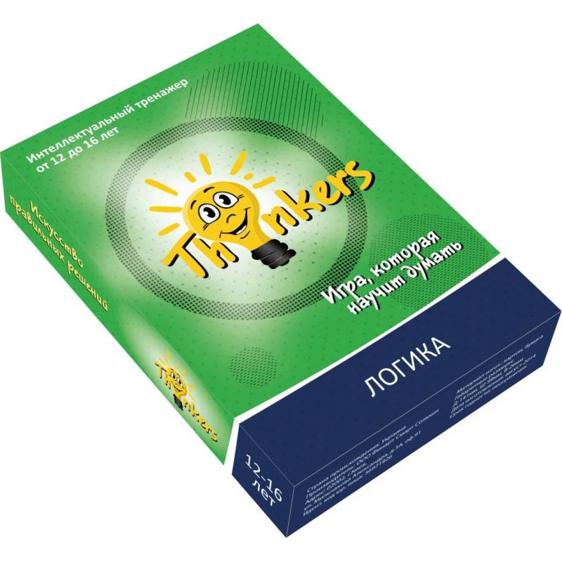 Купить Логическая игра Логика, Thinkers, от 12 лет, Не указан, 658153