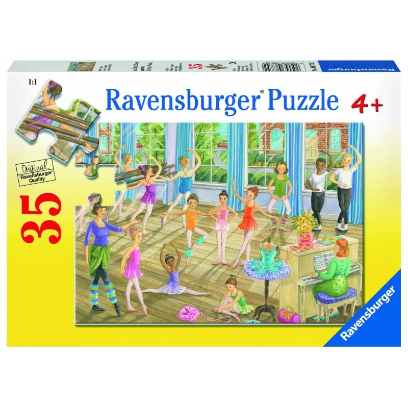 RAVENSBURGER Пазл Урок балета 35 деталей пазл 200 элементов ravensburger мой первый питомец 12810