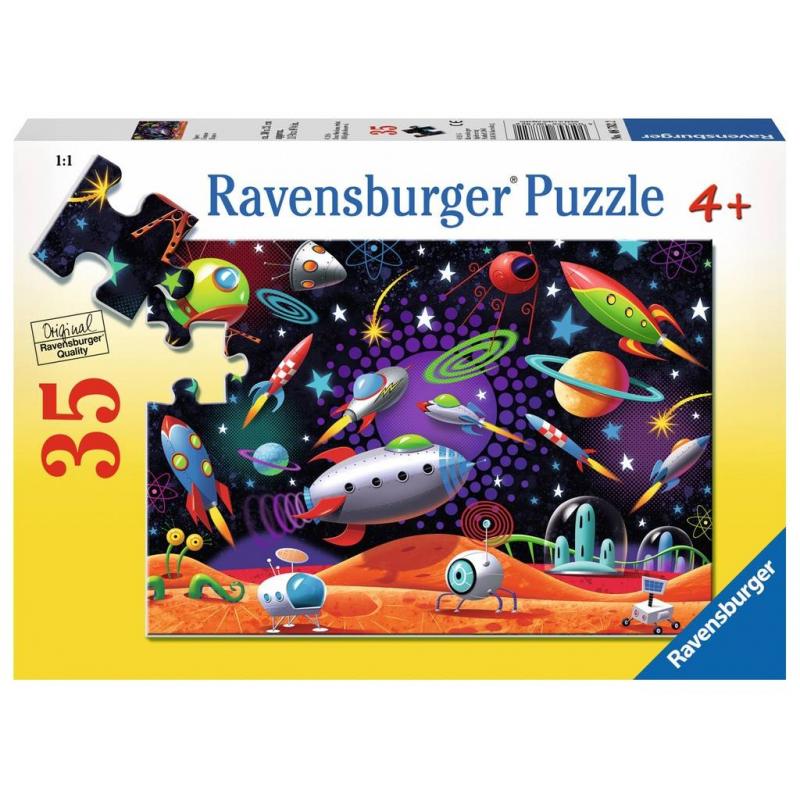 RAVENSBURGER Пазл Космос 35 деталей ravensburger пазл очаровательная дора 35 элементов