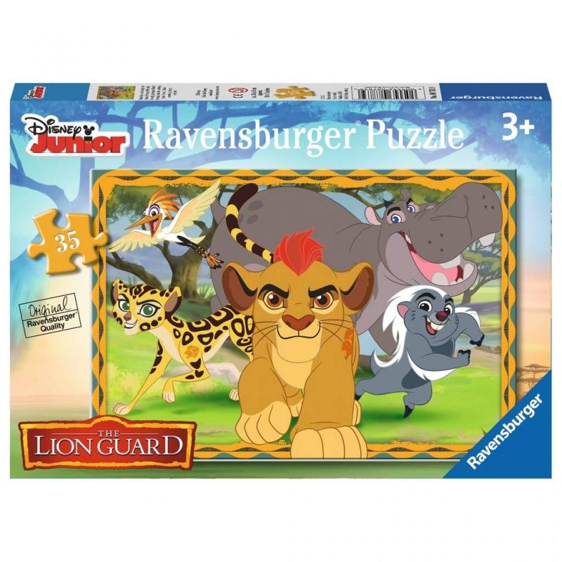 Пазл Хранитель левПазл Хранитель лев марки Ravensburger.<br>Включает 35 элементов.<br>Размер картинки: 26х18 см.<br><br>Возраст от: 3 года<br>Пол: Не указан<br>Артикул: 653696<br>Бренд: Германия<br>Лицензия: Disney<br>Размер: от 3 лет