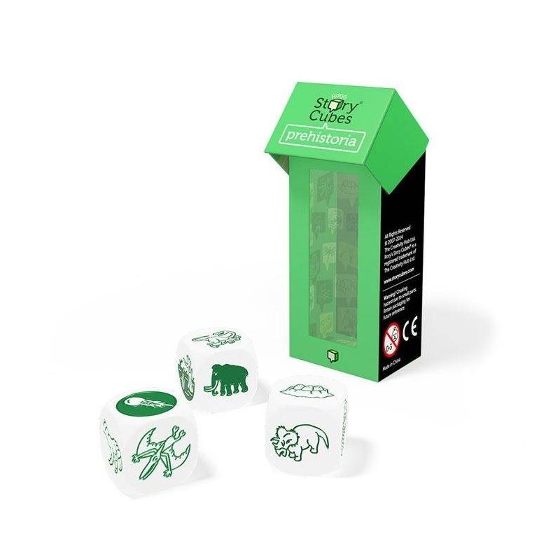 Rorys Story Cubes Дополнительный набор кубиков Динозавры story cubes кубики историй животные
