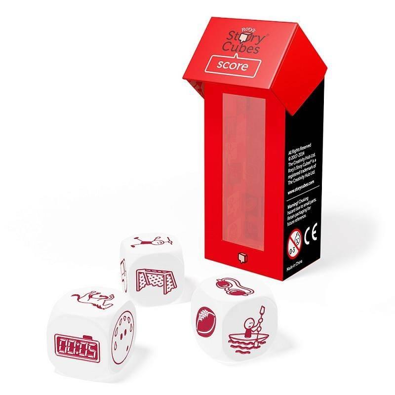 Rorys Story Cubes Дополнительный набор кубиков Спорт story cubes кубики историй животные