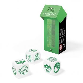Игрушки, Дополнительный набор кубиков Животные Rorys Story Cubes 658165, фото