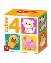 Кубики Домашние животные Десятое королевство
