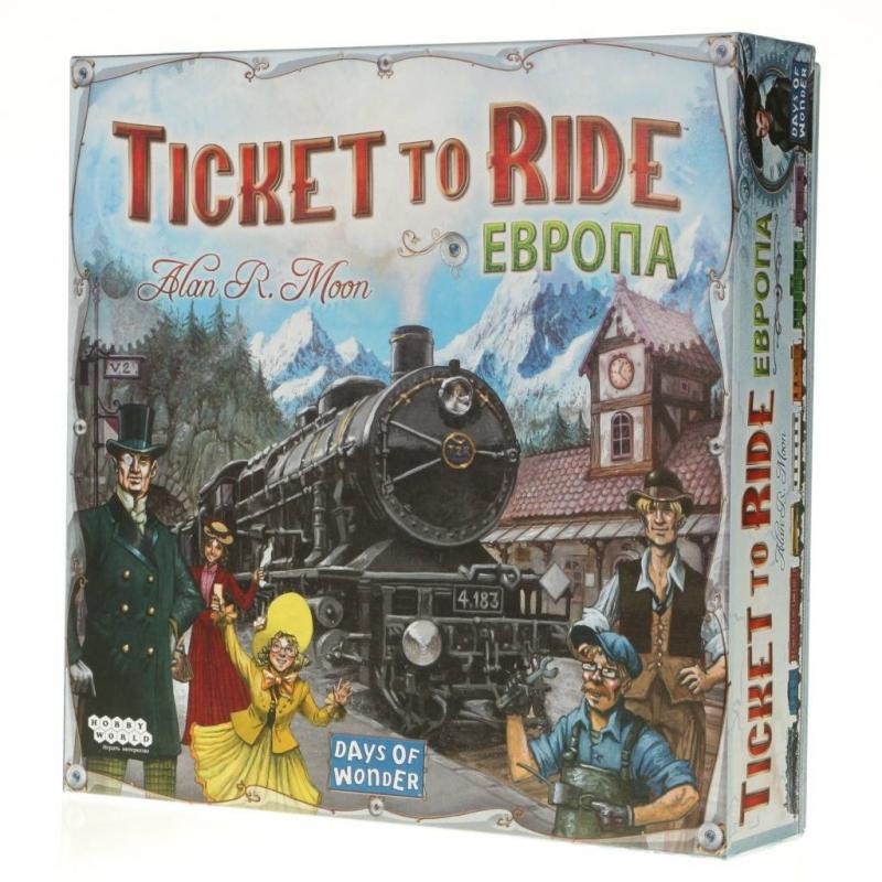 Hobby World Настольная игра Ticket to Ride: Европа настольная игра hobby world hobby world настольная игра ticket to ride европа