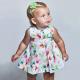 Девочки, Платье с поясом MAYORAL (зеленый)518379, фото 3