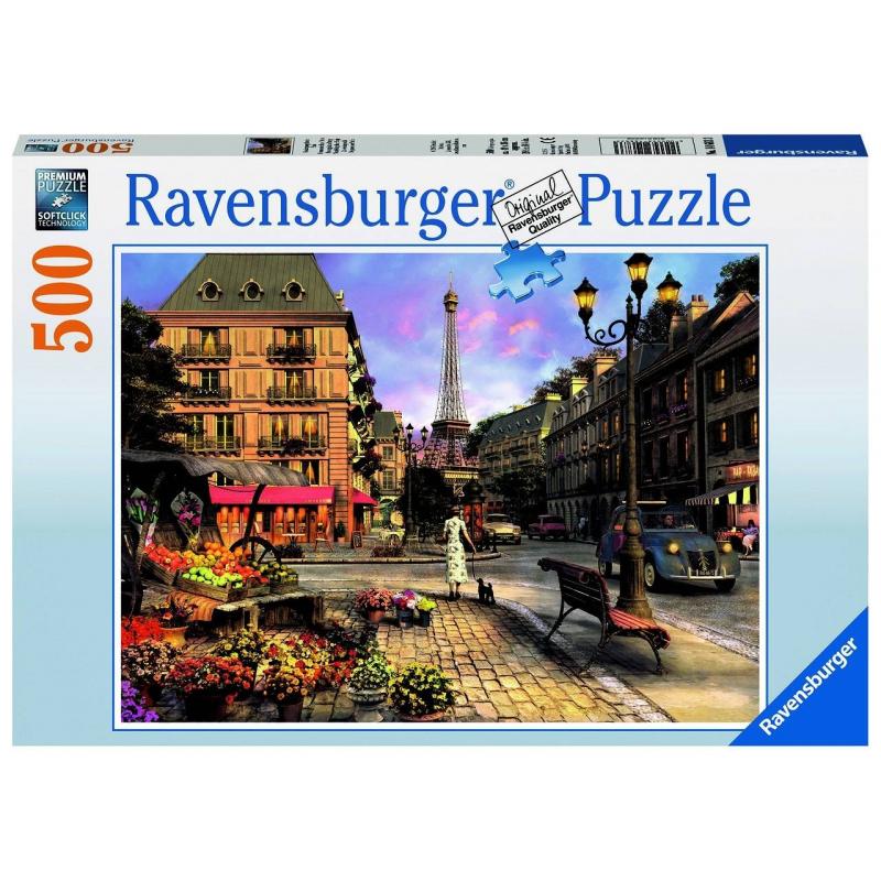 RAVENSBURGER Пазл Вечерняя прогулка 500 деталей ravensburger пазл прима балерина 500 деталей