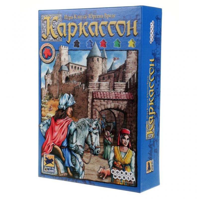 Hobby World Настольная игра Каркассон базовый настольная игра hobby world нет слов учим английский 1282