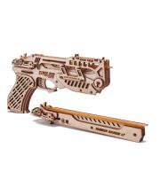 Сборная модель из дерева Пистолет с мишенями Wood Trick