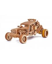 Механическая сборная модель из дерева Безумный Багги Wood Trick