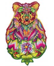 Деревянный пазл Вдохновленный медведь Wood Trick