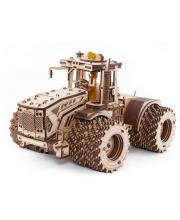 Конструктор деревянный 3D Трактор Кировец К-7М Eco Wood Art