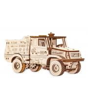 Сборная модель из дерева 3D МАЗ-6440RR заводной Eco Wood Art