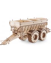 Конструктор деревянный 3D Прицеп к трактору Кировец К-7М Eco Wood Art