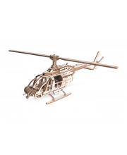 Сборная модель из дерева Вертолет Эдисон Lemmo