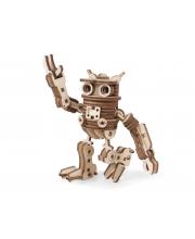 Конструктор 3D деревянный подвижный Робот ФИЛ Lemmo