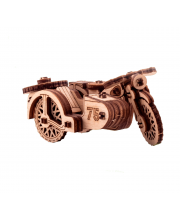Деревянный конструктор Мотоцикл М-72 UNIWOOD