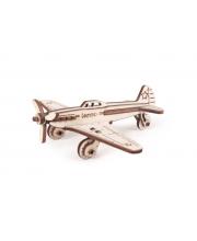Конструктор 3D деревянный Самолет ЯК-9 Lemmo