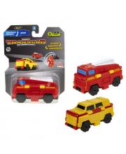 Пожарная машина-Джип 8 см 1Toy