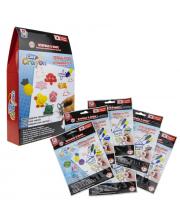 Набор тесто-мелков Clay Crayon 6 цветов 1Toy