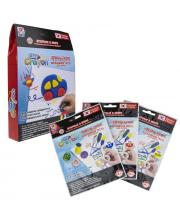 Набор тесто-мелков Clay Crayon Машинка 3 цвета 1Toy