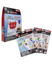Набор тесто-мелков Clay Crayon Крабик 3 цвета 1Toy
