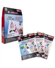 Набор тесто-мелков Clay Crayon Единорог 3 цвета 1Toy