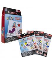 Набор тесто-мелков Clay Crayon Русалочка 3 цвета 1Toy