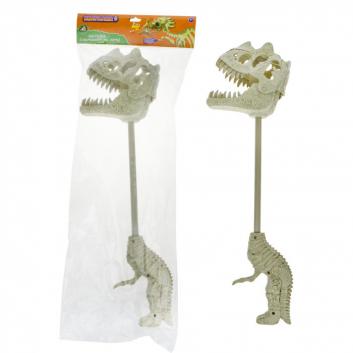 Игрушки, Хваталка динозавр звук 44 см 1Toy 391310, фото
