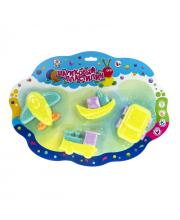 Набор шарикового пластилина Транспорт 1Toy