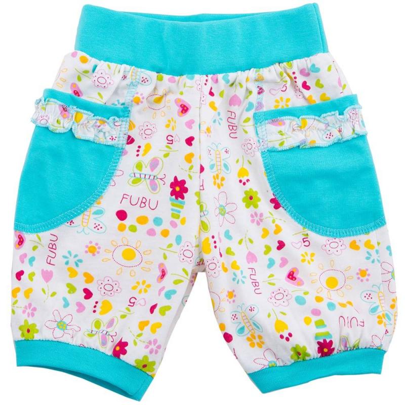 БриджиБриджиголубогоцвета маркиSoniKids для девочек.<br>Бриджи, выполненные из чистого хлопка, декорированылетнимпринтом с изображением бабочек и цветов. Модель дополнена широкой эластичной резинкой на поясе, а также небольшими карманами.<br><br>Размер: 6 месяцев<br>Цвет: Голубой<br>Рост: 68<br>Пол: Для девочки<br>Артикул: 647985<br>Страна производитель: Россия<br>Сезон: Весна/Лето<br>Состав: 100% Хлопок<br>Бренд: Россия