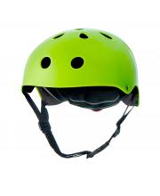Шлем защитный детский Safety Green с наклейками Kinderkraft