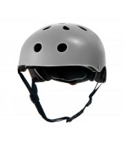 Шлем защитный детский Safety Grey с наклейками Kinderkraft