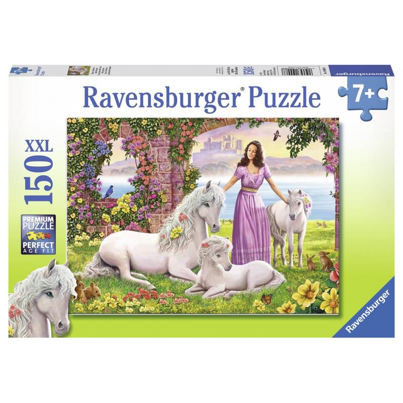 RAVENSBURGER Пазл Сказочное королевство XXL 150 деталей ravensburger пазл кролик в ромашках xxl 150 деталей