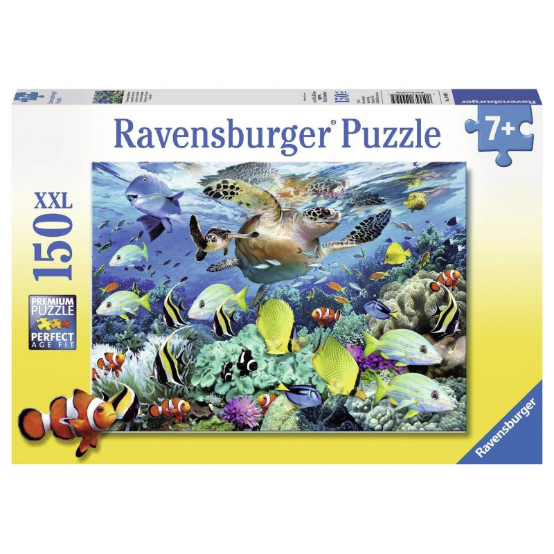 RAVENSBURGER Пазл Коралловый риф XXL 150 деталей ravensburger пазл кролик в ромашках xxl 150 деталей