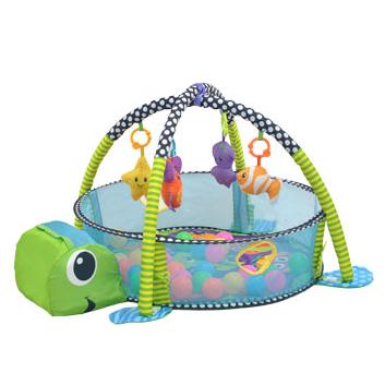 Игрушки, Коврик развивающий Turtle Everflo 392056, фото