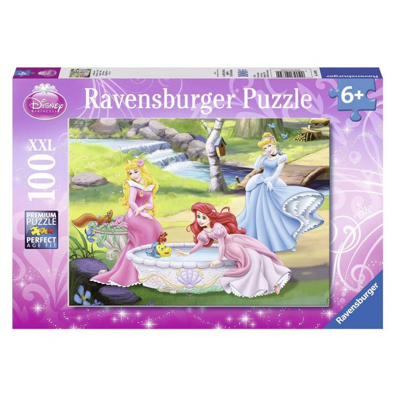 RAVENSBURGER Пазл Принцессы в саду XXL 100 деталей ravensburger пазл кролик в ромашках xxl 150 деталей