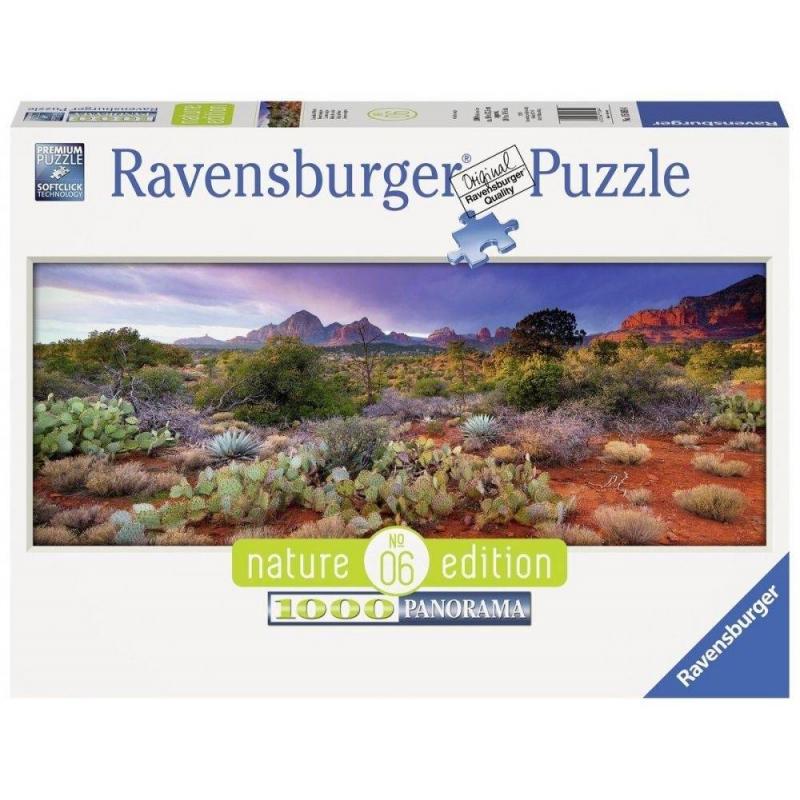 RAVENSBURGER Пазл панорамный Волшебный пейзаж 1000 деталей пазл ravensburger пазл панорамный идиллия на озере 1000 шт