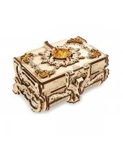 Сборная модель Янтарная шкатулка 189 деталей Ugears
