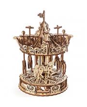 Сборная модель Карусель 300 деталей Ugears