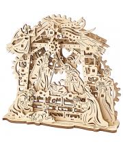 Сборная модель Рождественский Вертеп 59 деталей Ugears