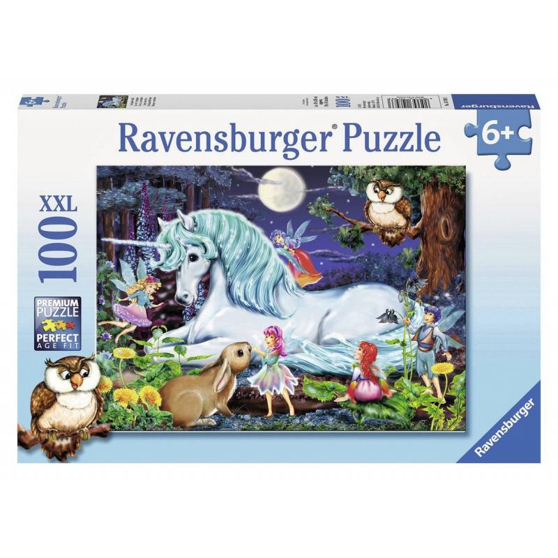 RAVENSBURGER Пазл Зачарованный лес XXL 100 деталей ravensburger ravensburger пазл парад кошек xxl 100 шт