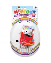 Шлем с фломастерами White Rainbow M Wipeout