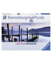 Пазл панорамный Идиллия на озере 1000 деталей RAVENSBURGER