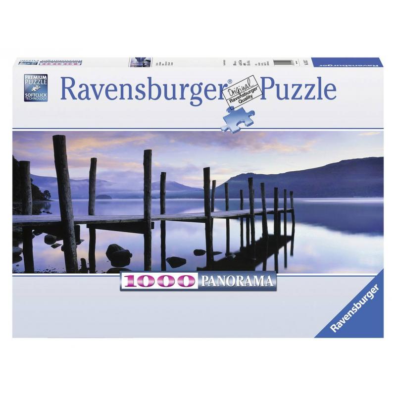 RAVENSBURGER Пазл панорамный Идиллия на озере 1000 деталей